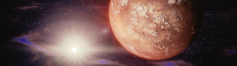 Wie lange dauert ein Flug zum Mars? - Eine Nahaufnahme von einem Berg - März 2020