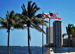 Flug nach Miami