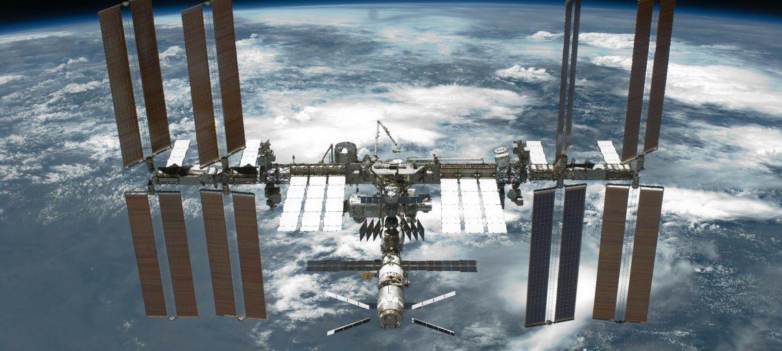 ISS im Weltraum